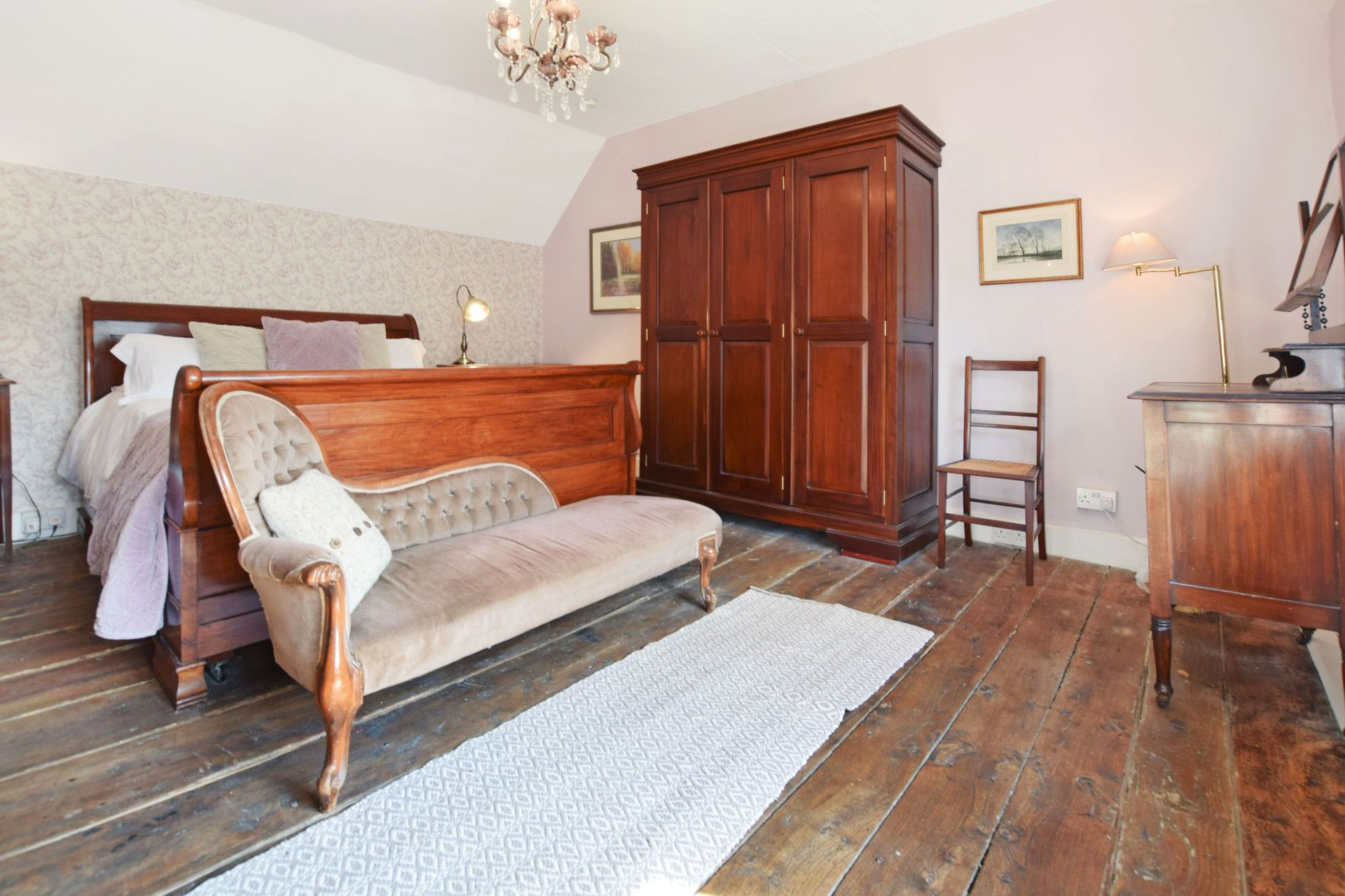 Bedroom One, Old Post Office, Bolthole Retreats