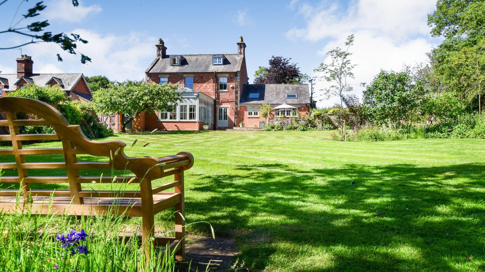 Garden, Old Manse, Bolthole Retreats