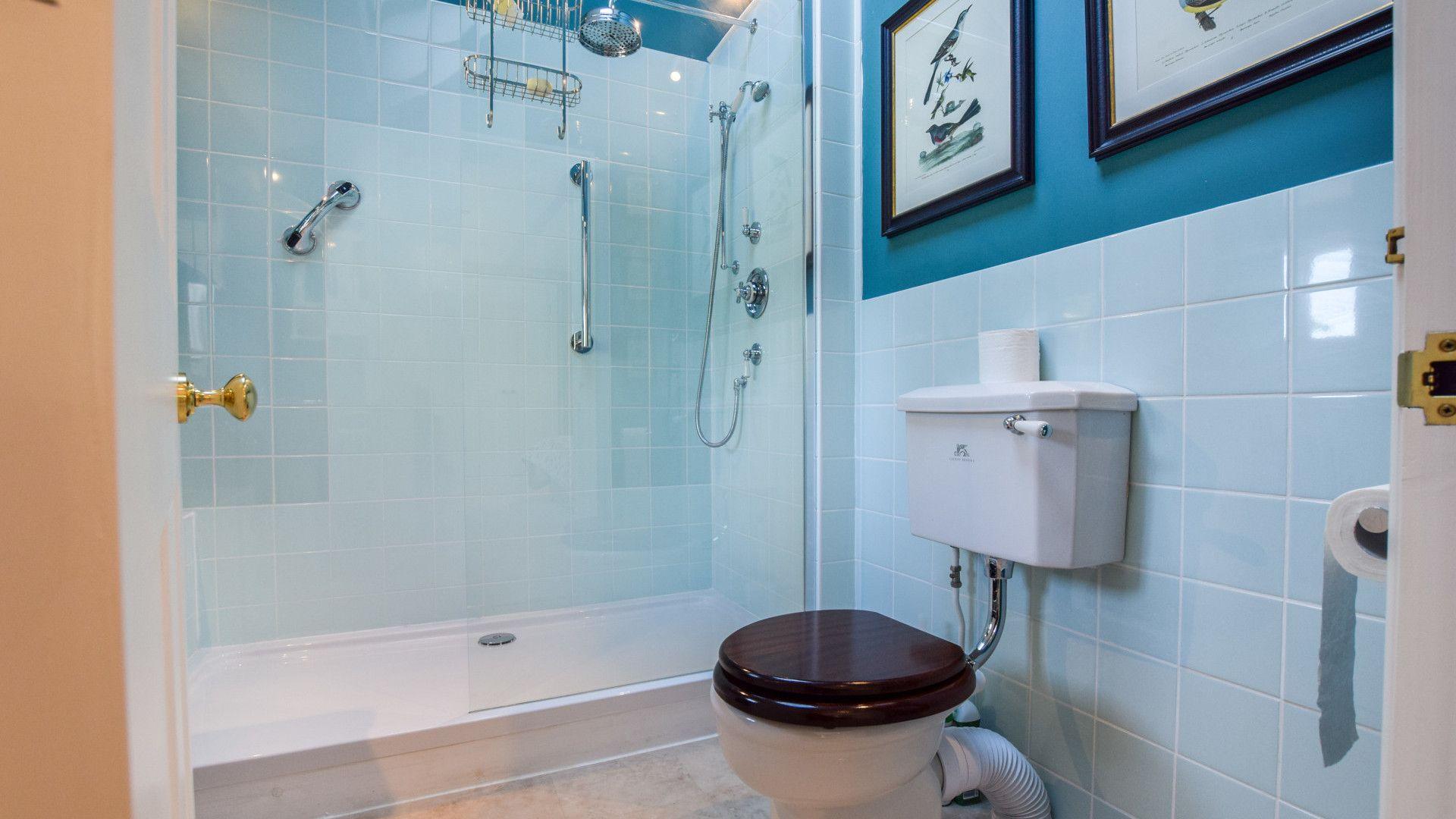 Bedroom 5, en-suite,  Old Manse, Bolthole Retreats