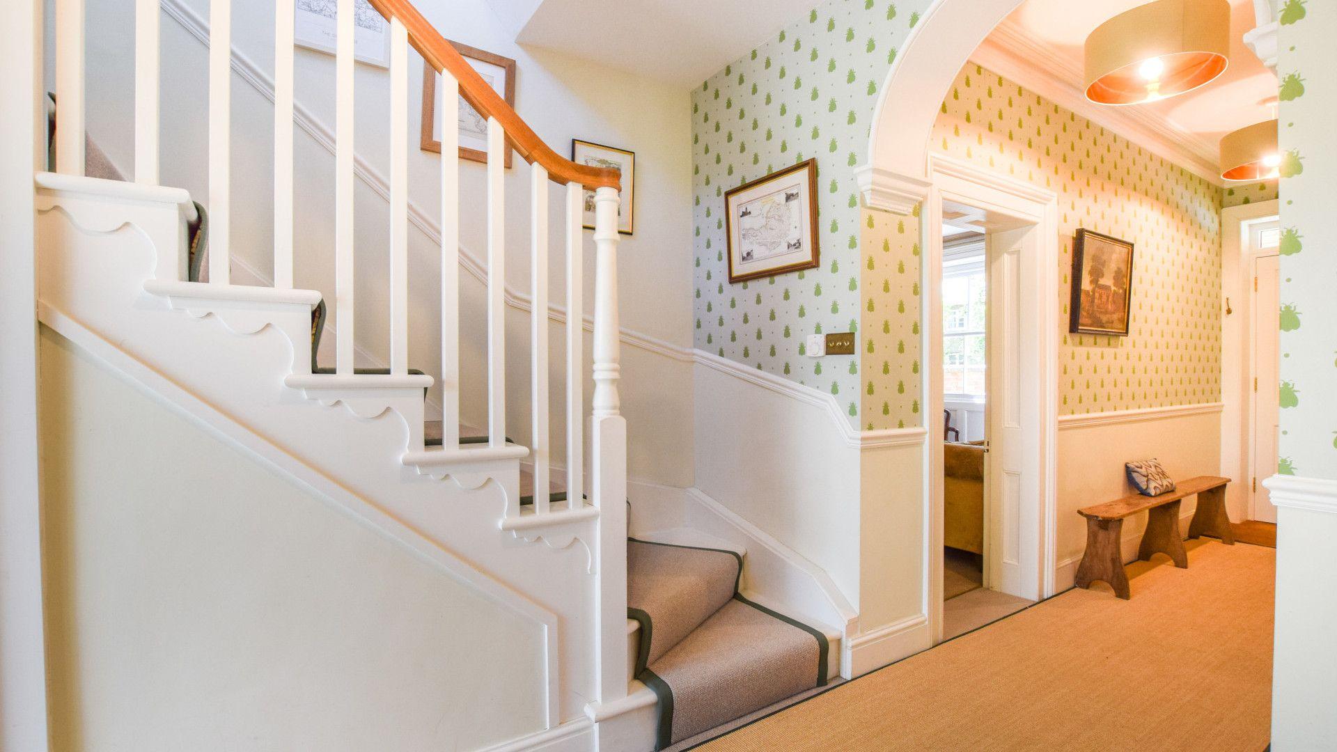 Hallway, Old Manse, Bolthole Retreats