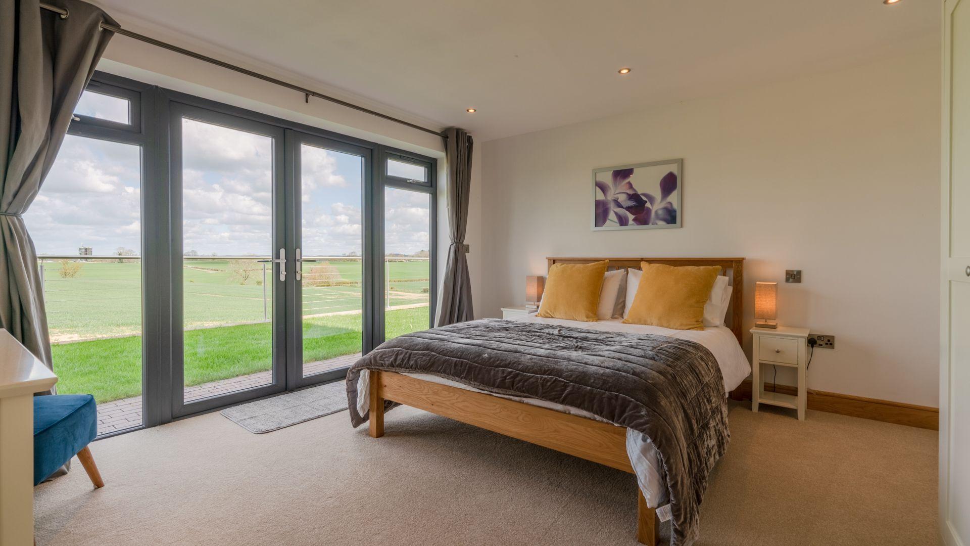 Bedroom One, Lower Lodge Barn, Bolthole Retreats