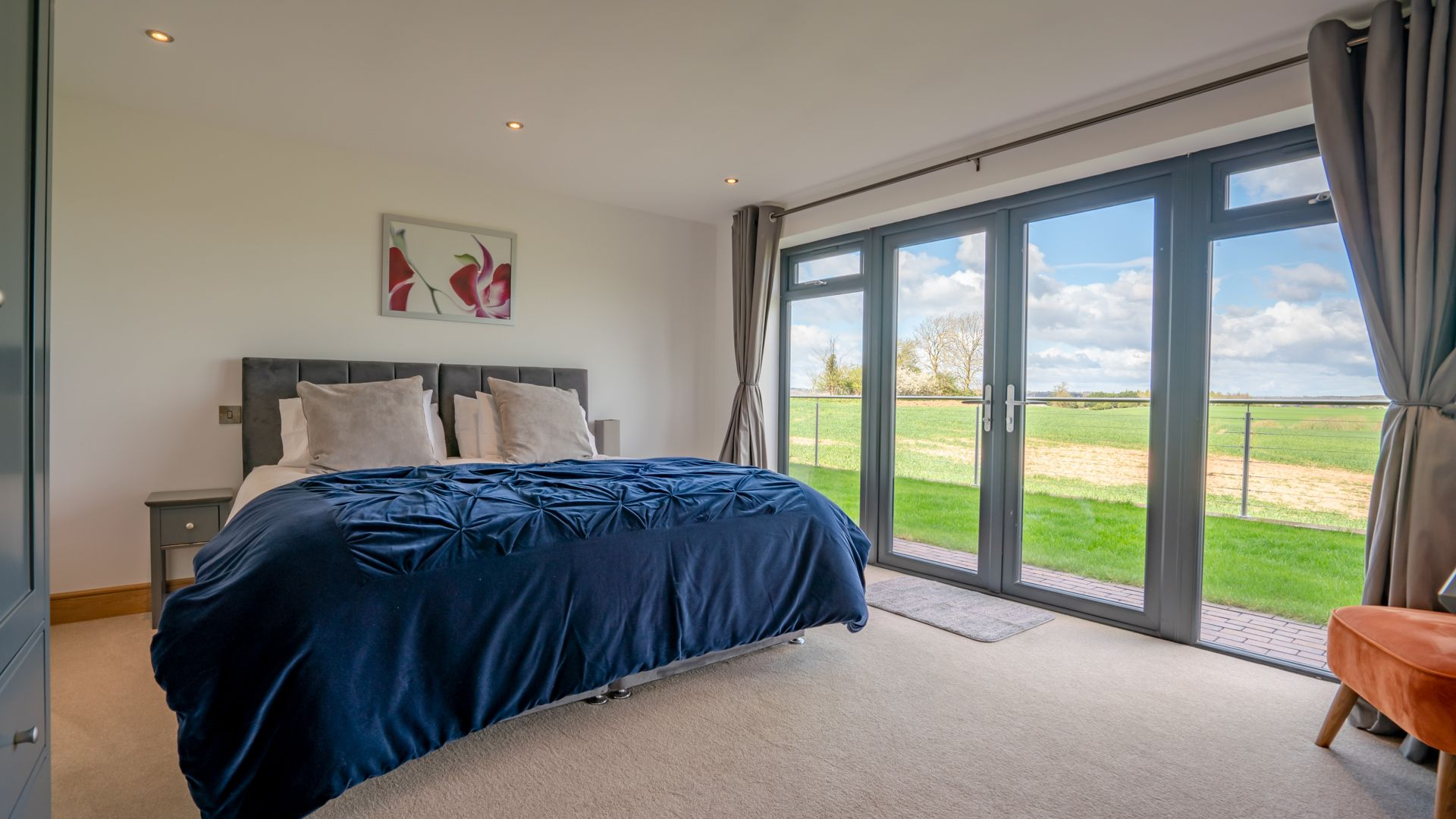 Bedroom Three, Lower Lodge Barn, Bolthole Retreats