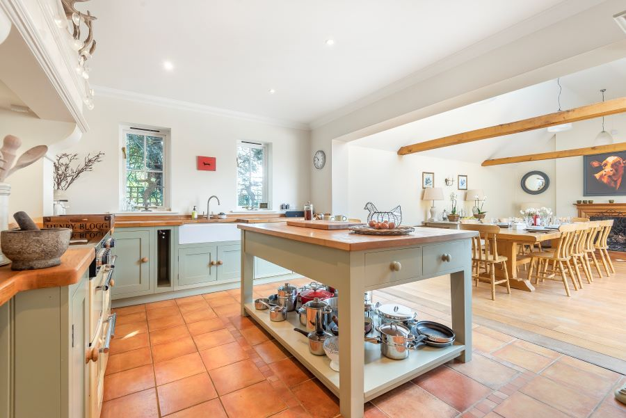 Yew Tree House | Kitchen  and dining area