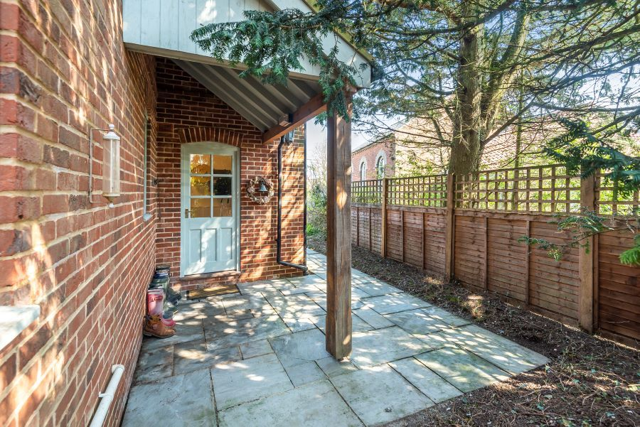 Yew Tree House | Side Entrance