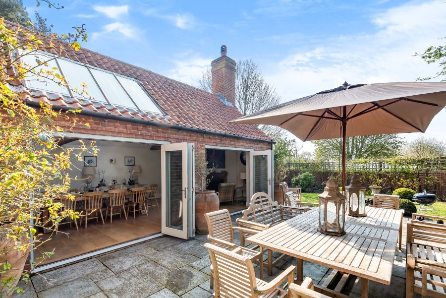 Yew Tree House | Outdoor seating area