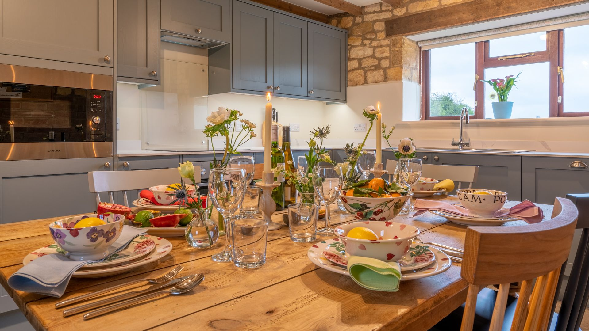 Kitchen-Dining Room, Field House Cottage, Bolthole Retreats