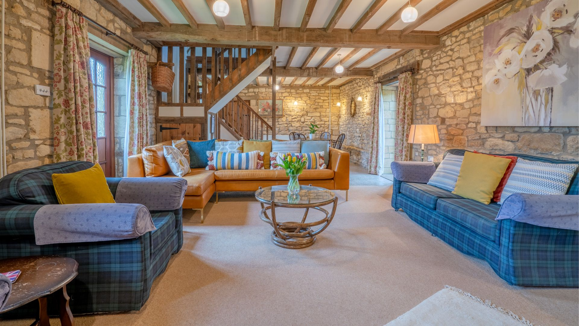 Living Room, Field House Cottage, Bolthole Retreats