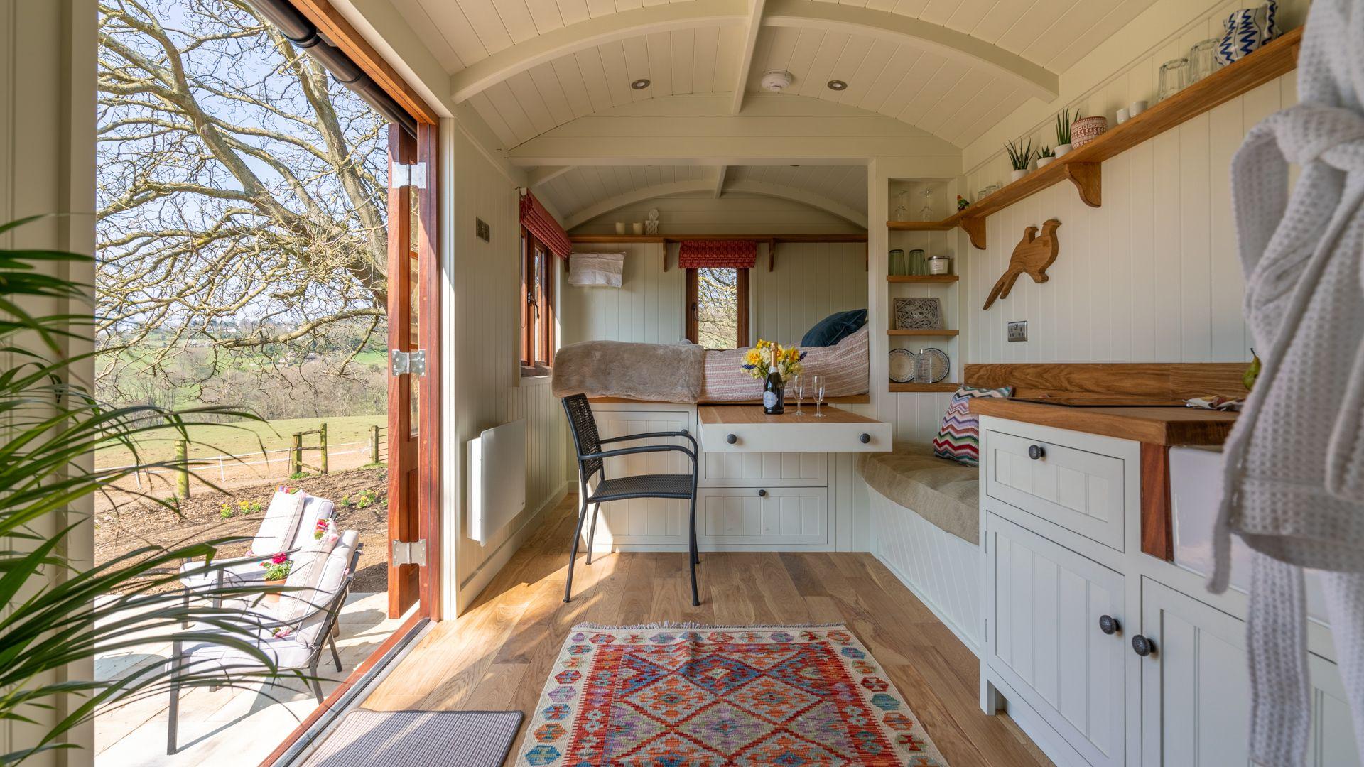 Interior, Tudor Oak, Bolthole Retreats