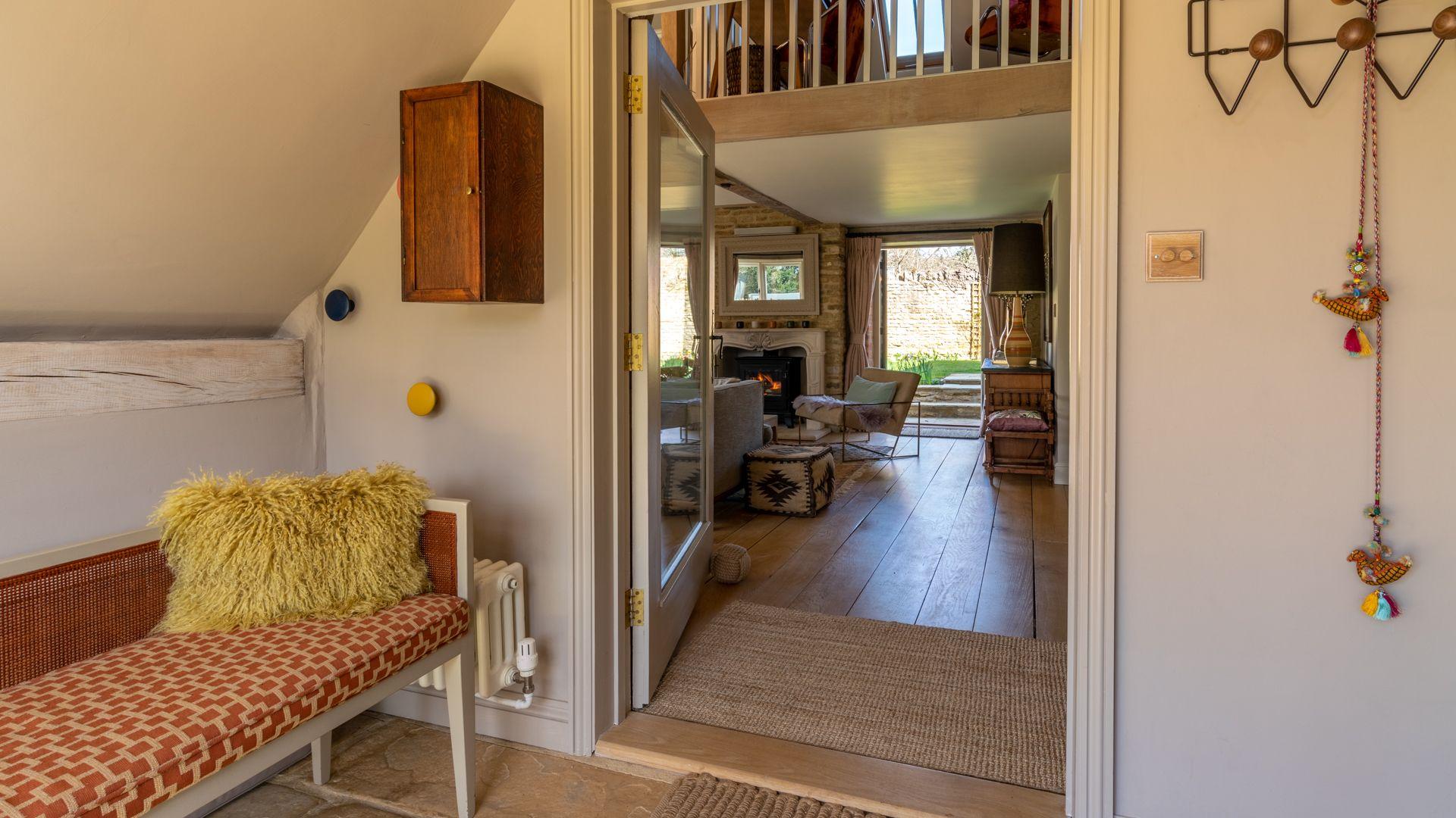 Entrance, Quail House, Bolthole Retreats