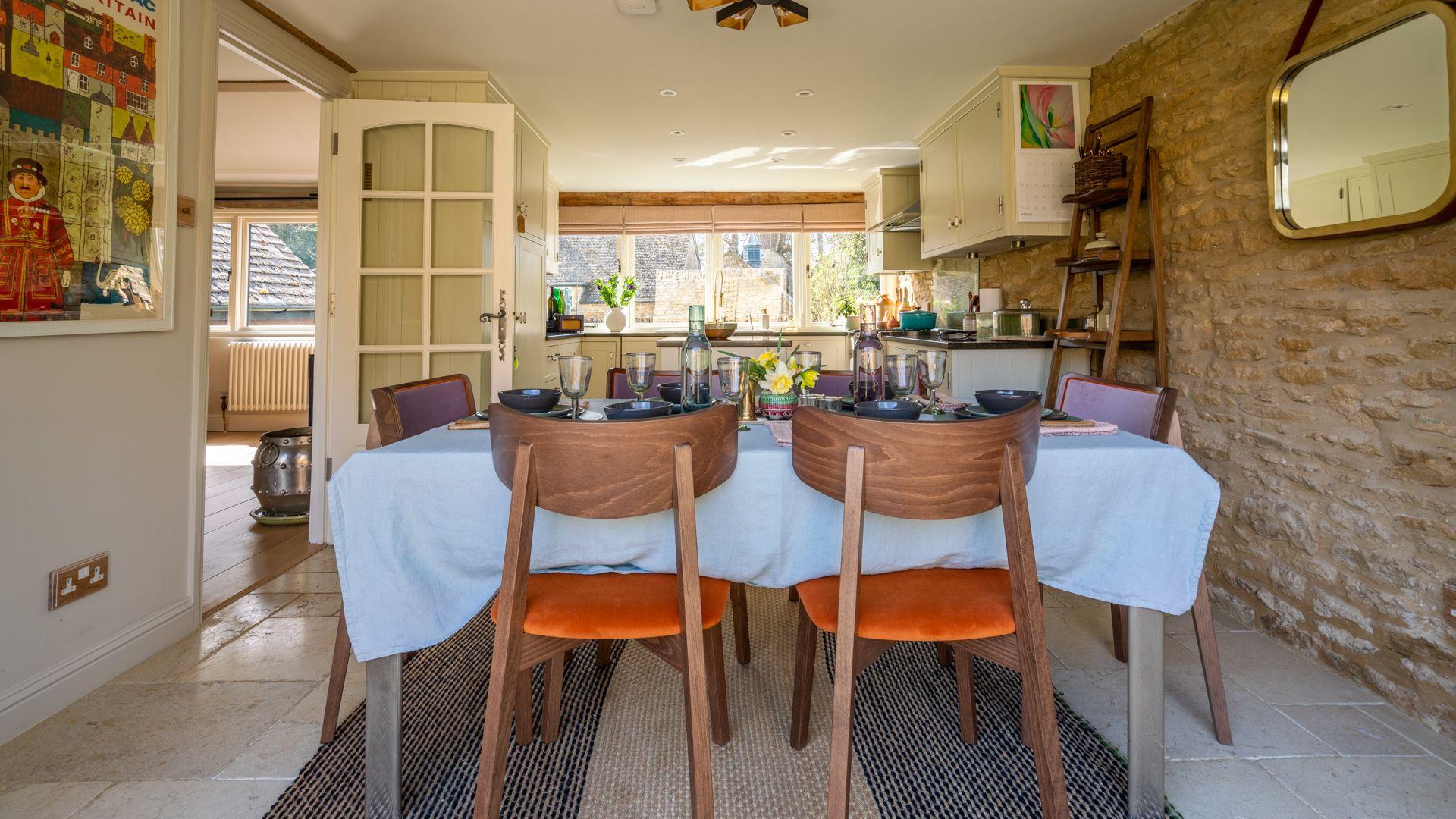 Kitchen/Dining room, Quail House, Bolthole Retreats