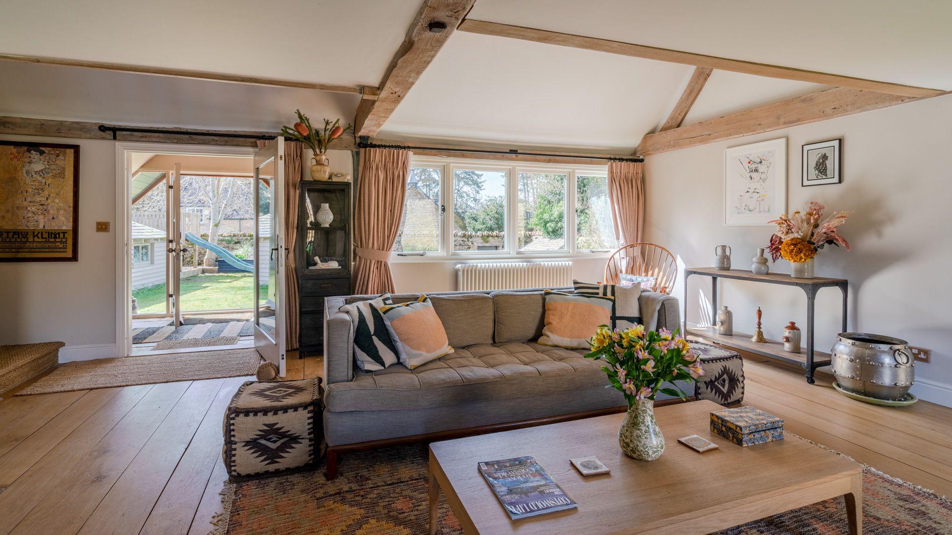Living room, Quail House, Bolthole Retreats