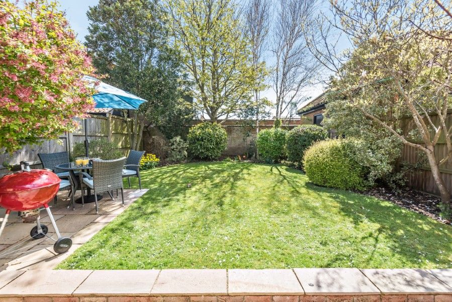 The Stables Manor Court | Private back garden