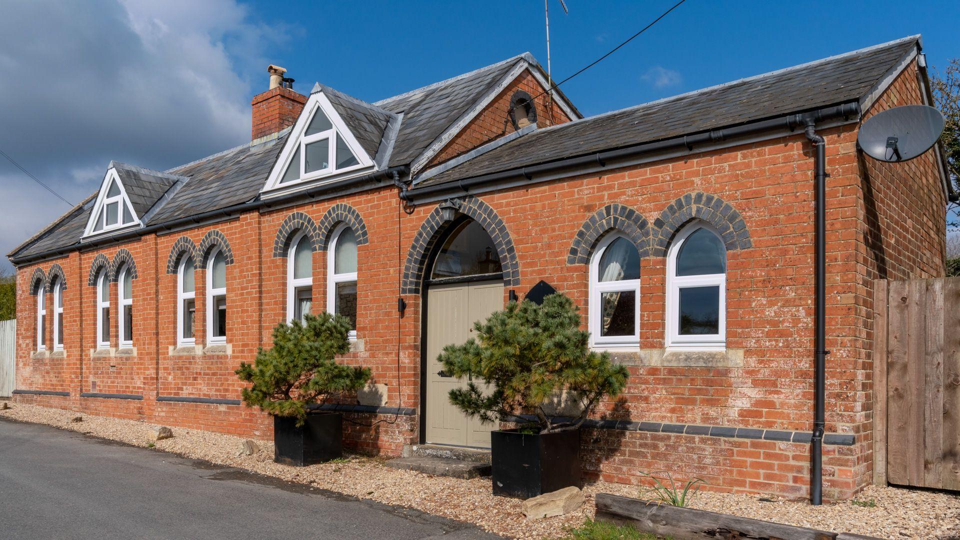 Front entrance, Old Chapel, Bolthole Retreats