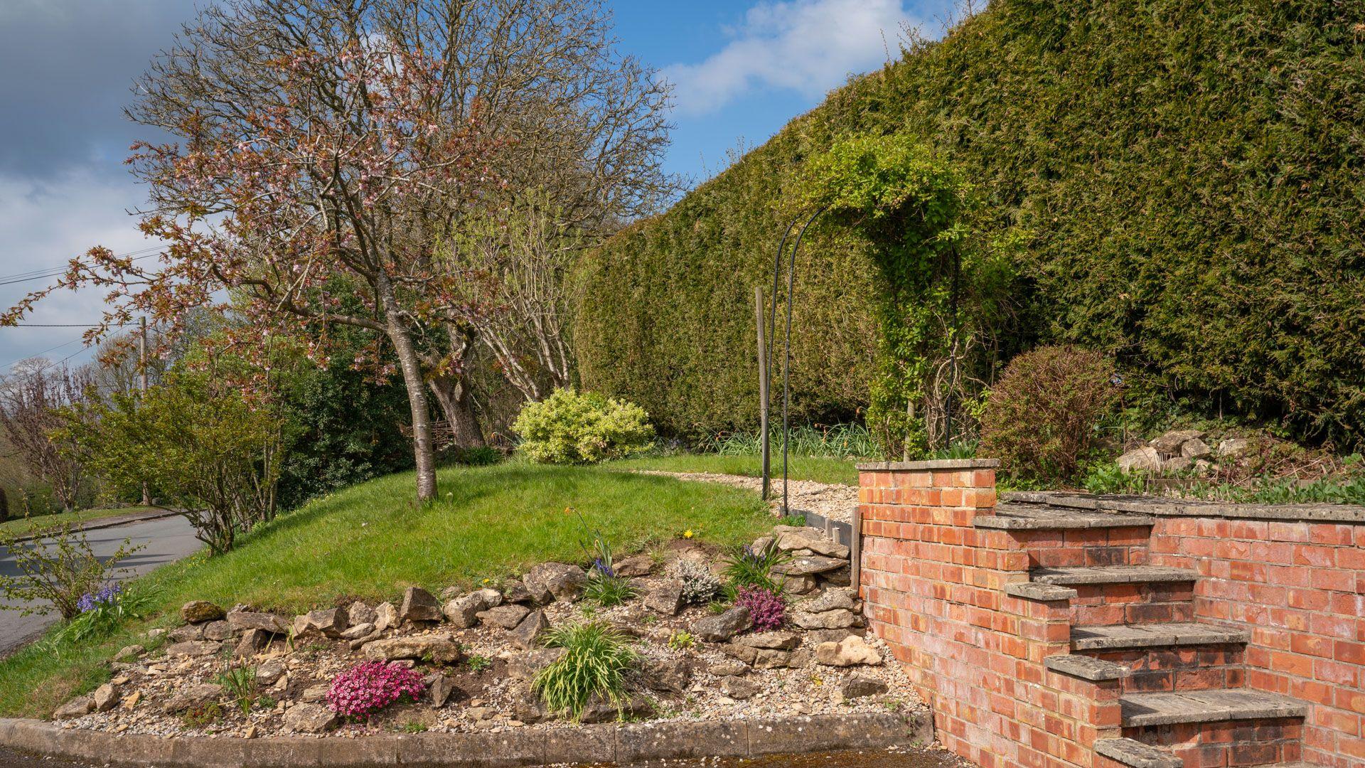 Steps to garden, Old Chapel, Bolthole Retreats