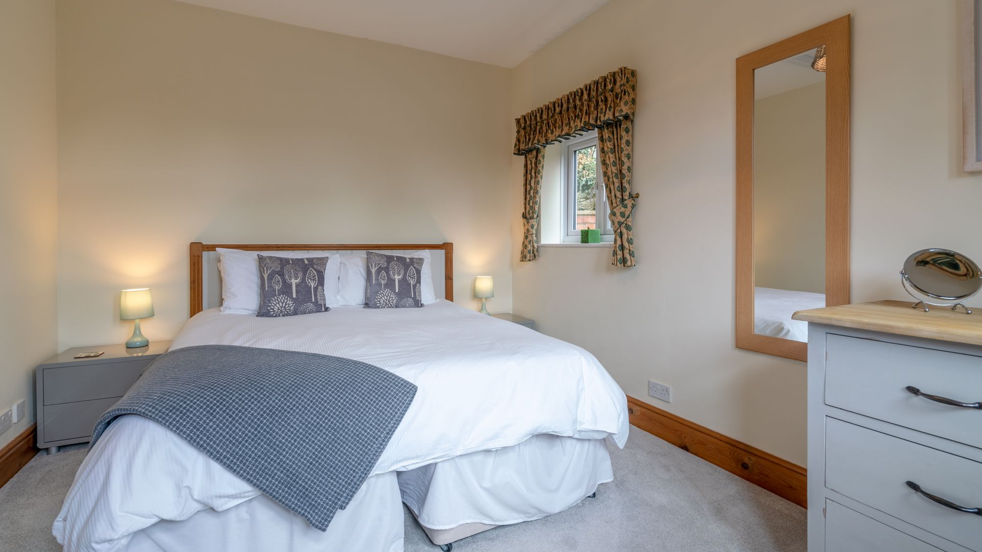 Bedroom One, Old Chapel, Bolthole Retreats