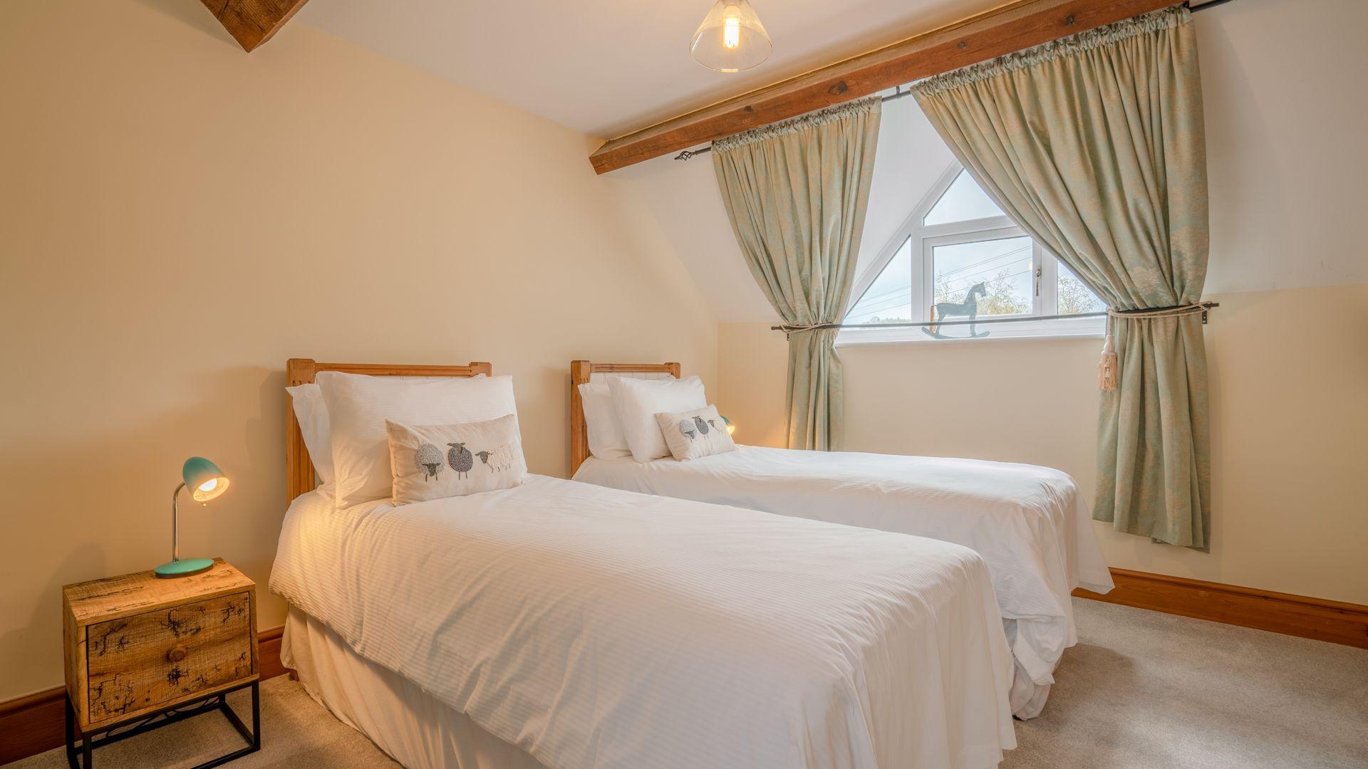 Bedroom Two, Old Chapel, Bolthole Retreats