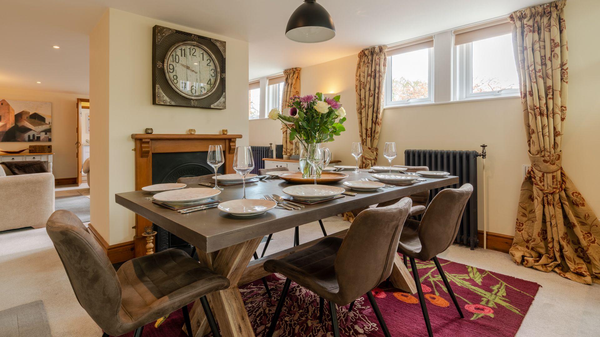 Dining Area, Old Chapel, Bolthole Retreats