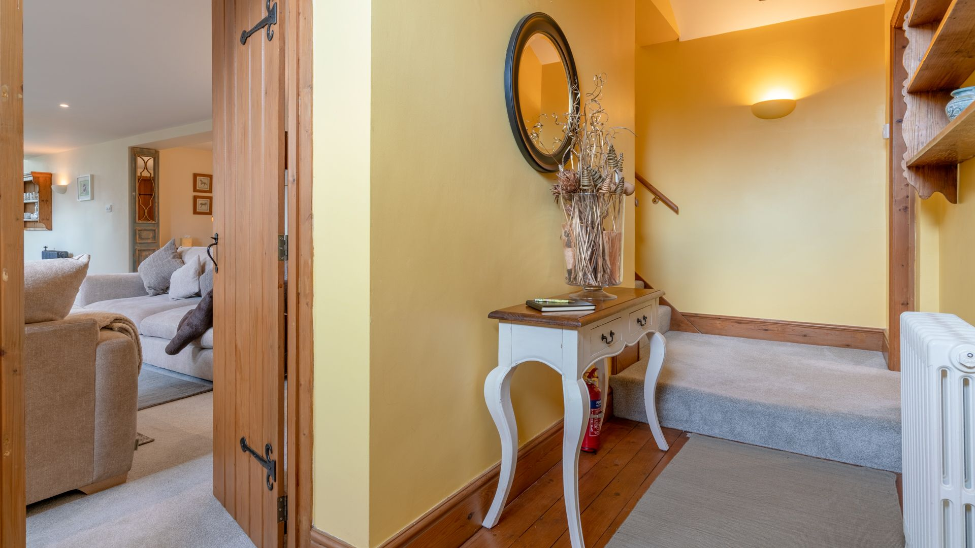 Hallway, Old Chapel, Bolthole Retreats