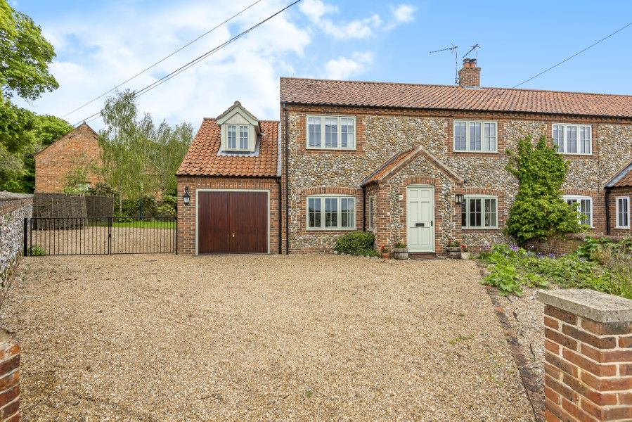 2 Waterhall Cottages | Front with ample parking