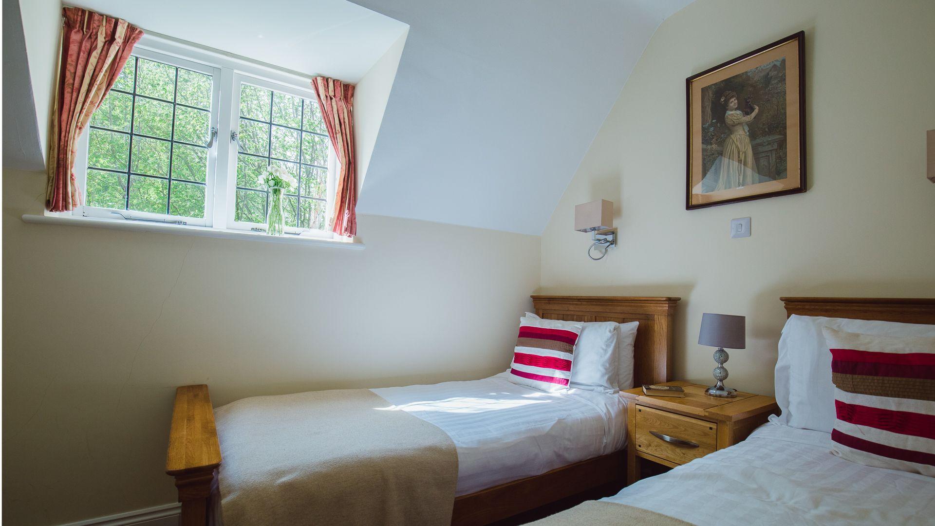 Bedroom Two,  Emma Dent Cottage at Sudeley Castle, Bolthole Retreats