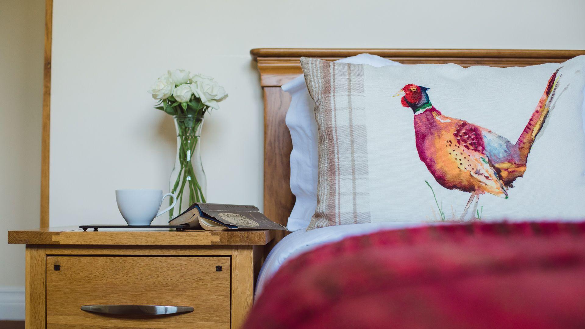 Bedroom One,  Emma Dent Cottage at Sudeley Castle, Bolthole Retreats