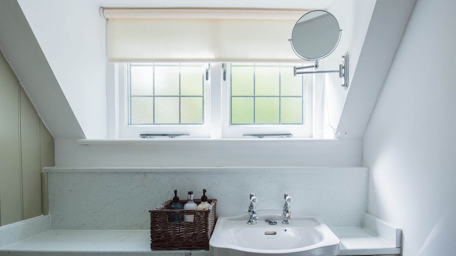 Bedroom One En-suite Bathroom,  Emma Dent Cottage at Sudeley Castle, Bolthole Retreats
