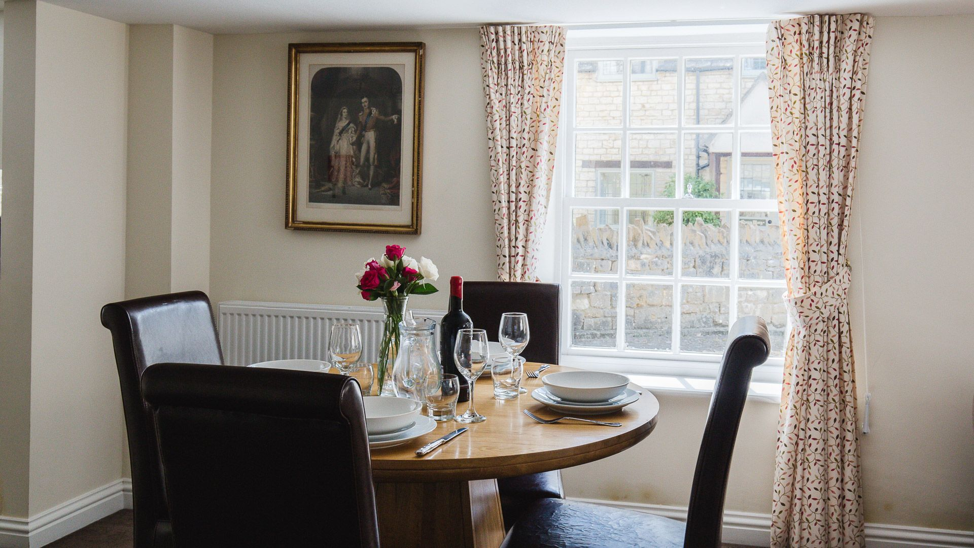 Dining Area, Queens Cottage at Sudeley Castle, Bolthole Retreats