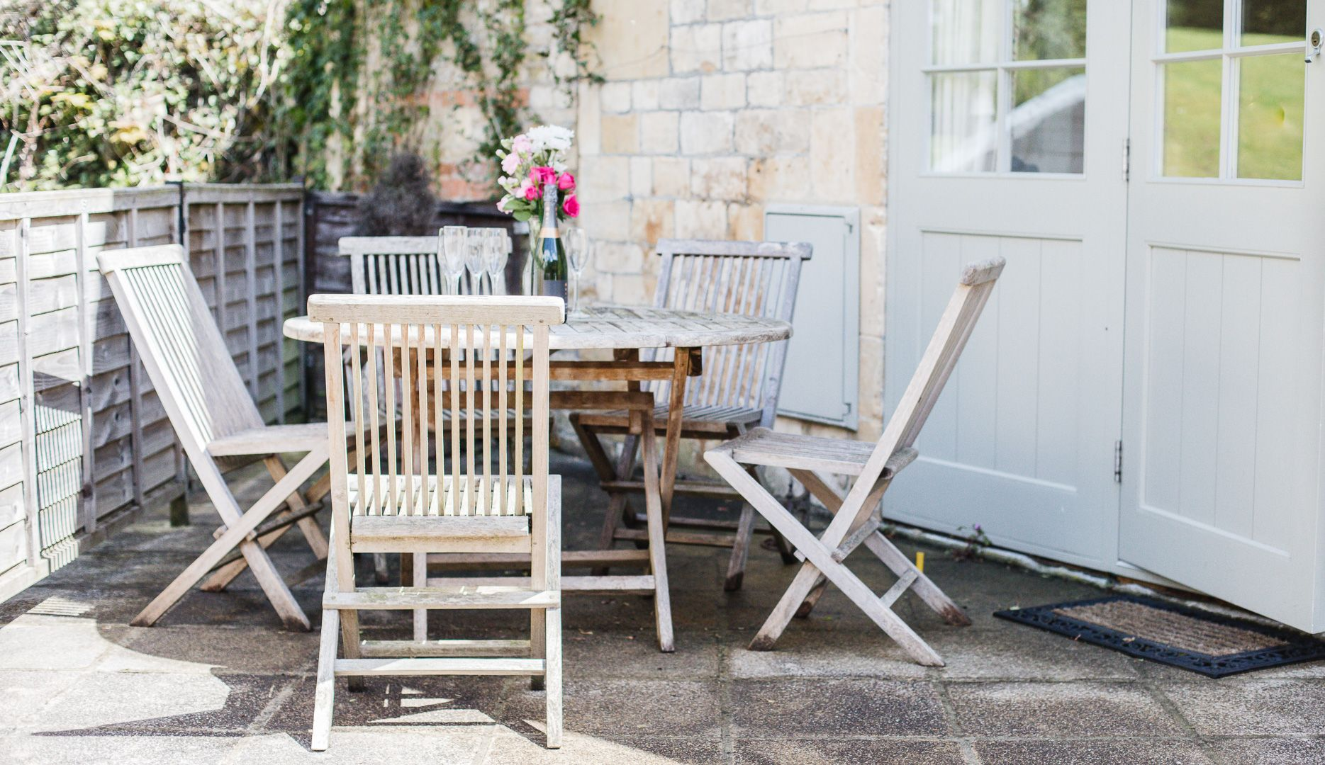 Outside Area, Queens Cottage at Sudeley Castle, Bolthole Retreats