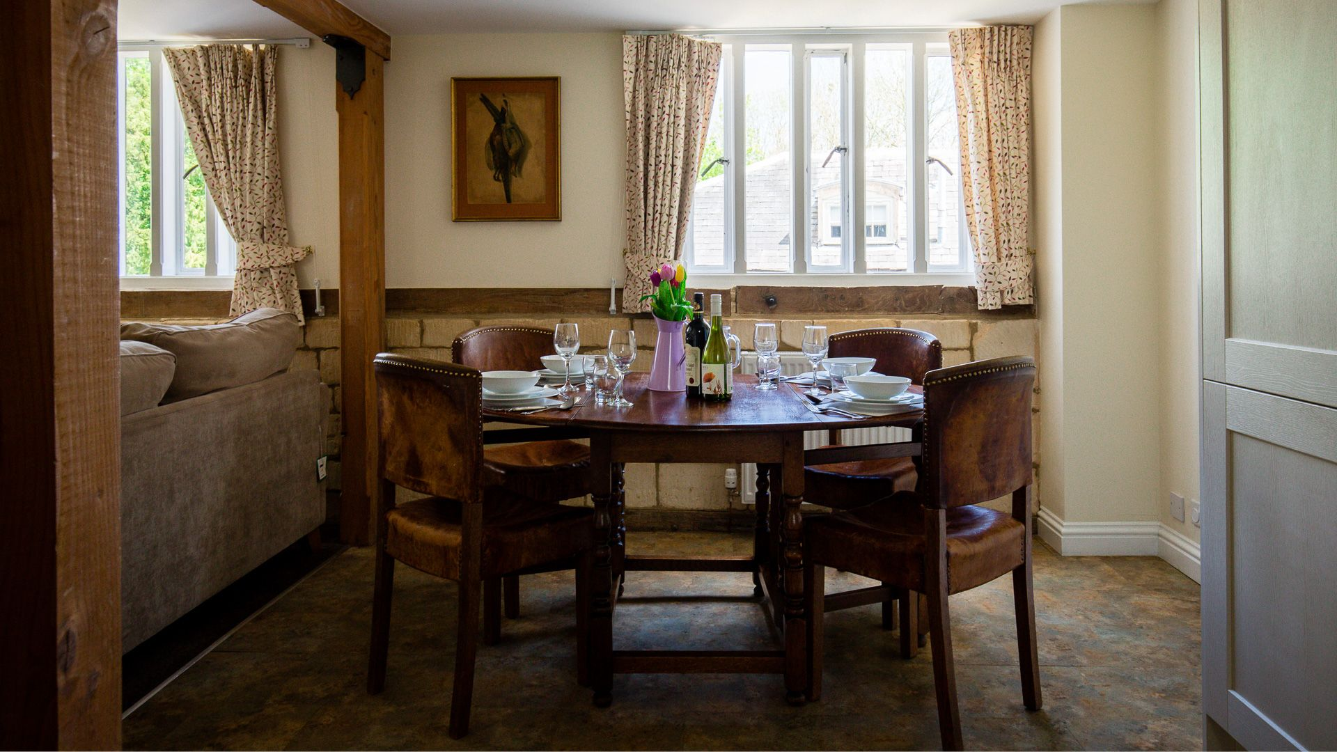 Dining Area, Oliver Cromwell at Sudeley Castle, Bolthole Retreats