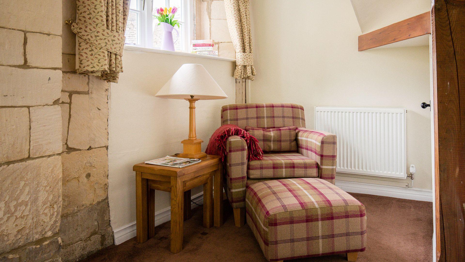 Sitting Area, Prince Rupert at Sudeley Castle, Bolthole Retreats