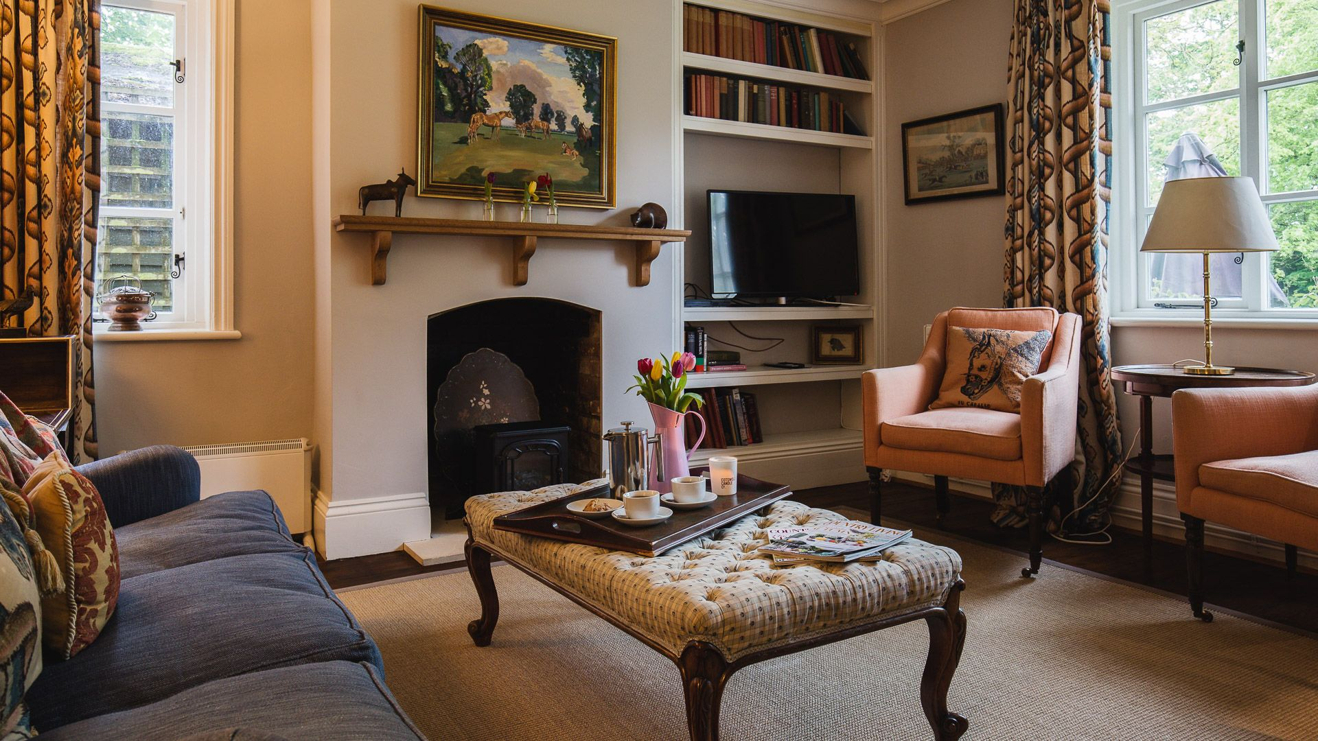 Living Area, Sudeley Guest Cottage, Bolthole Retreats