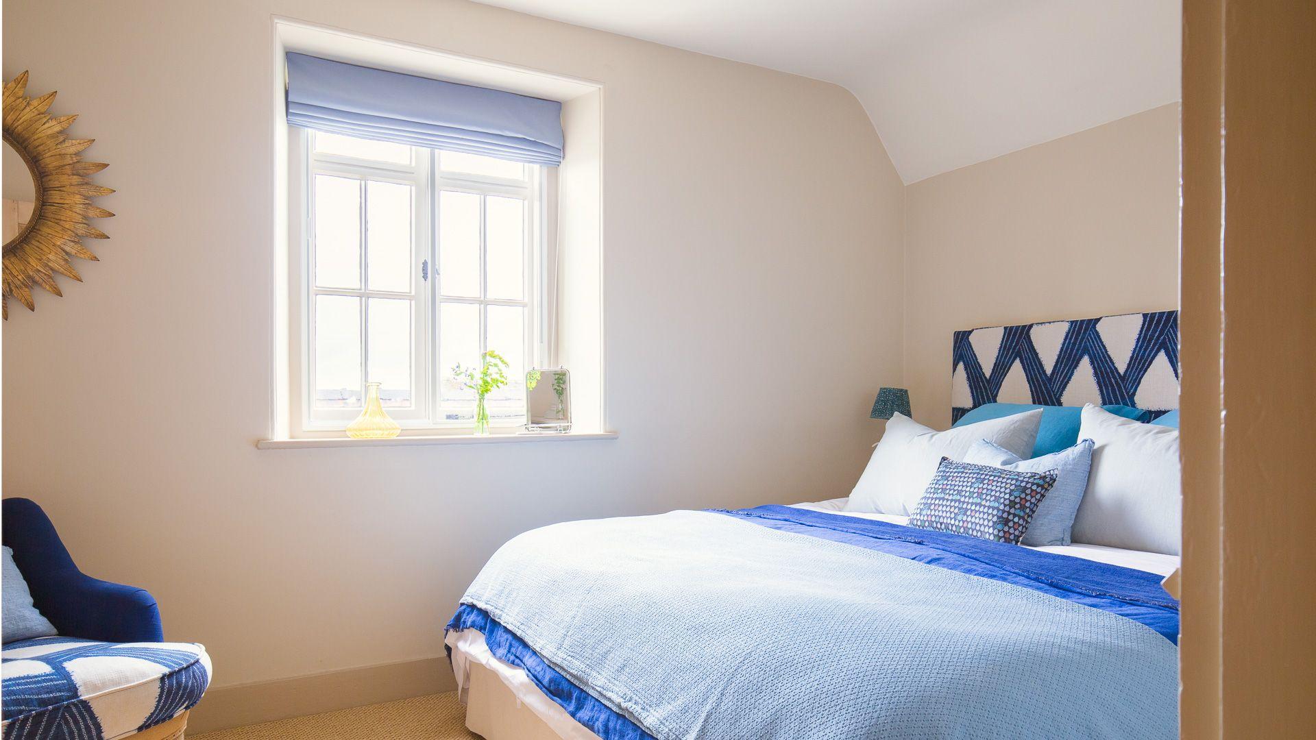 Bedroom One, Monument Cottage, Bolthole Retreats