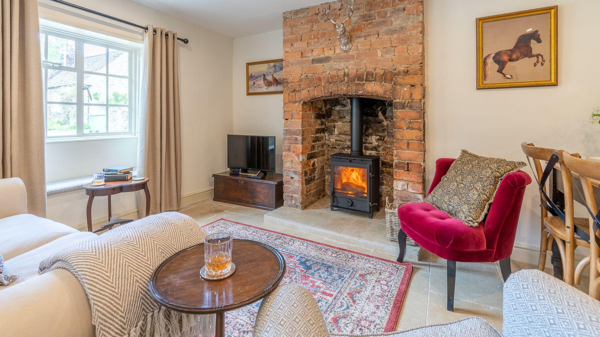 Living Room, Poppy Cottage, Bolthole Retreats