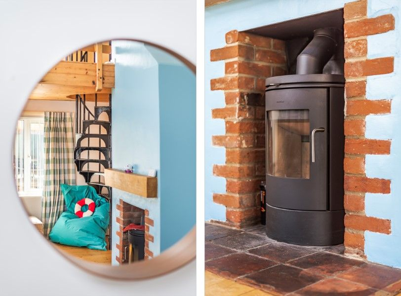 Fulmar | Sitting room wood burner