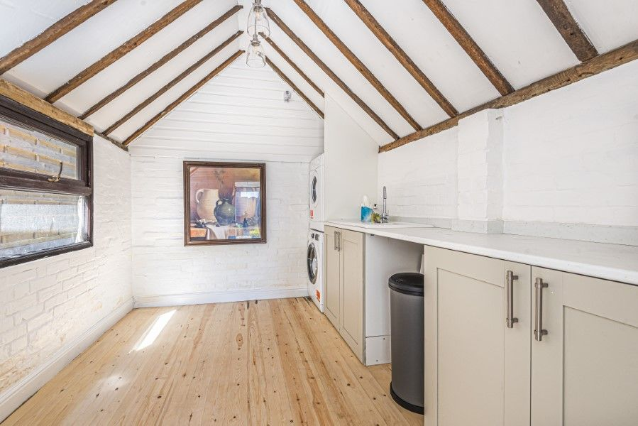 Avocet Cottage NC | Summer house utility room