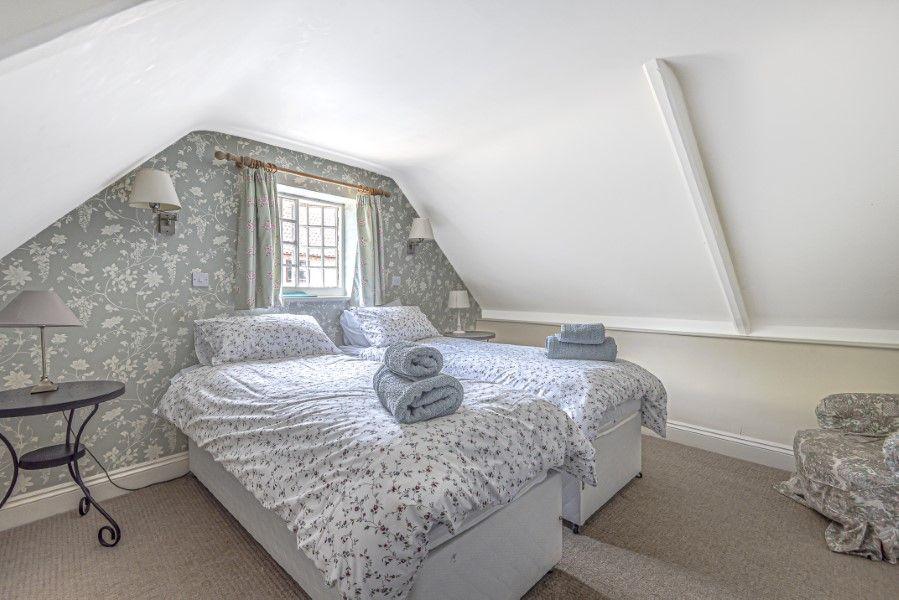 North Lodge   Upstairs bedroom