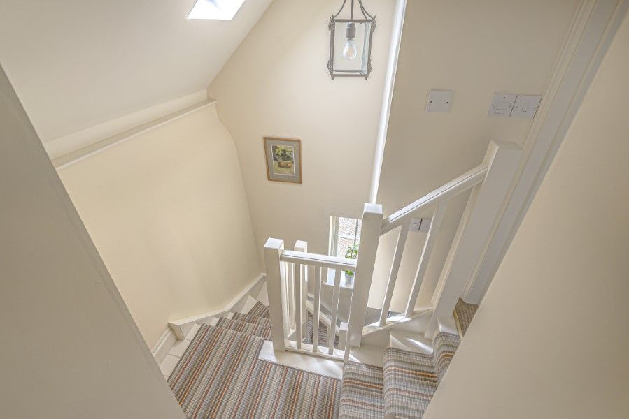 North Lodge   Staircase