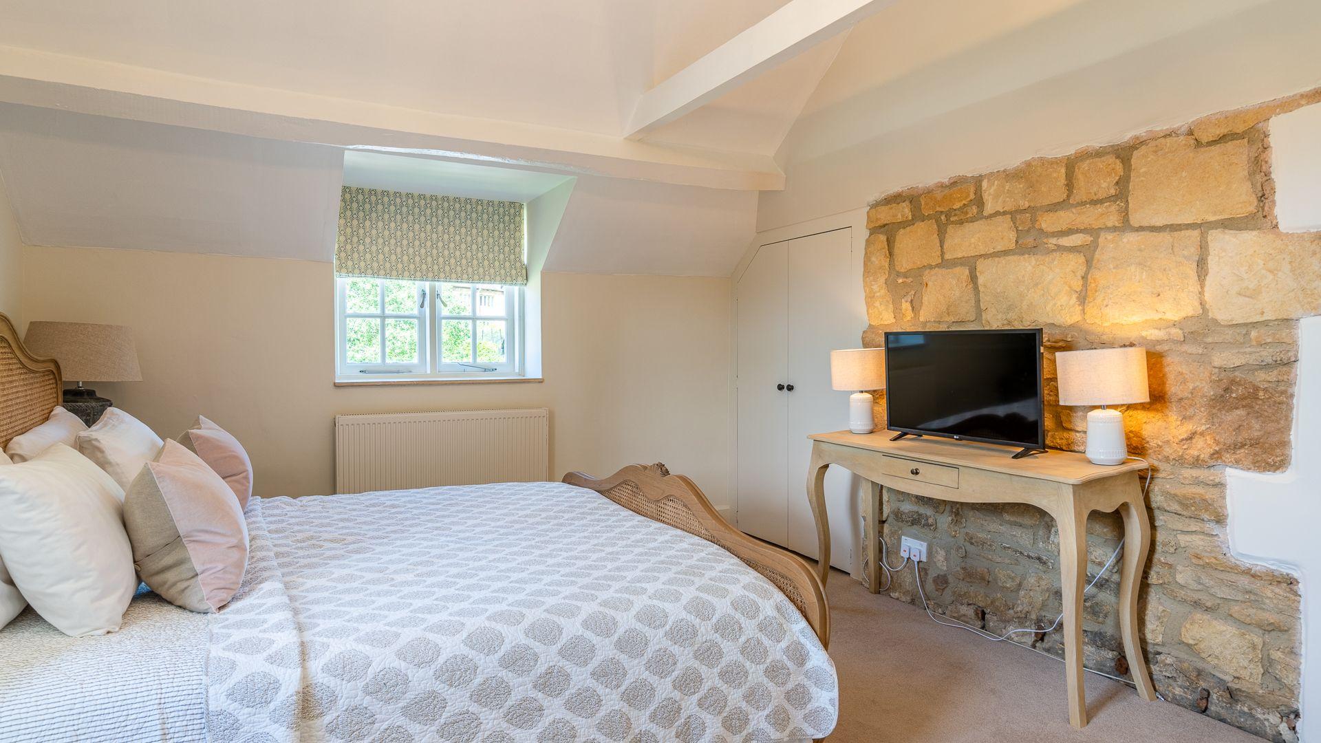 Bedroom Four, Colebrook Cottage, Bolthole Retreats