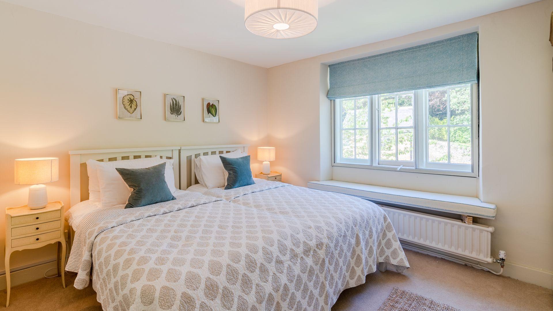 Bedroom Two, Colebrook Cottage, Bolthole Retreats