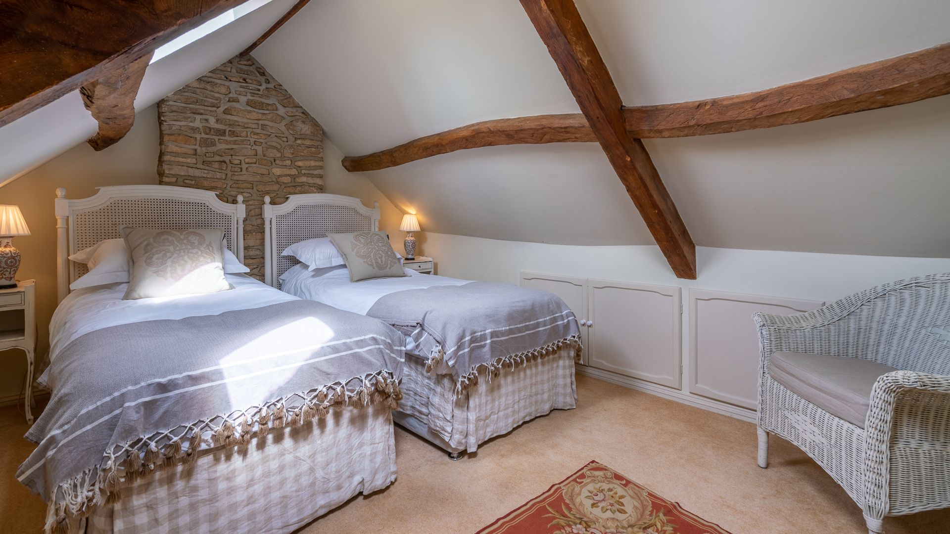 Bedroom Three, Grindstone Mill, Bolthole Retreats