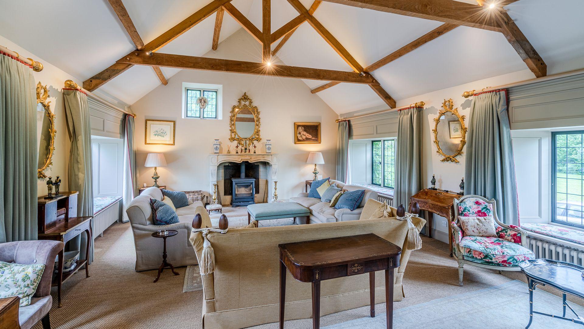 Sitting Room, Grindstone Mill, Bolthole Retreats