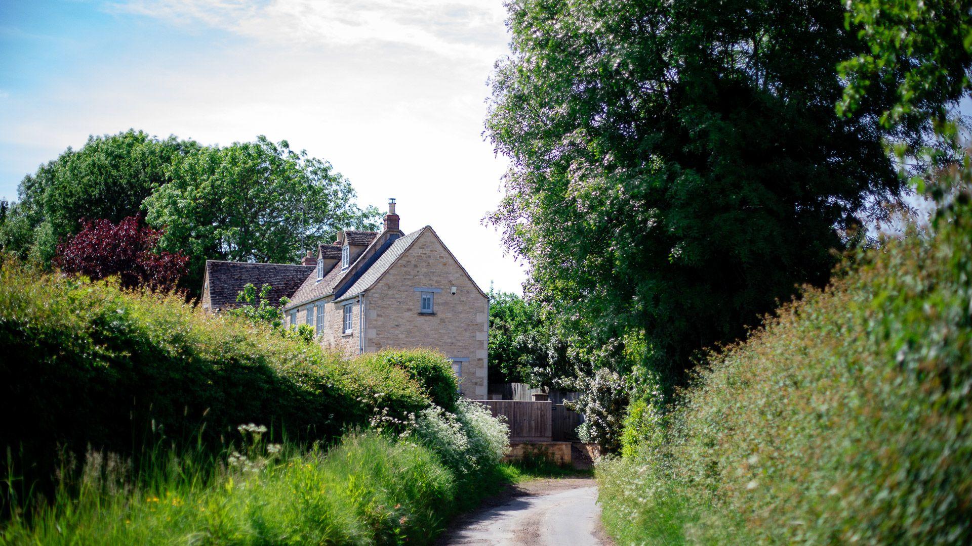 The gable end, Corn Close, Bolthole Retreats