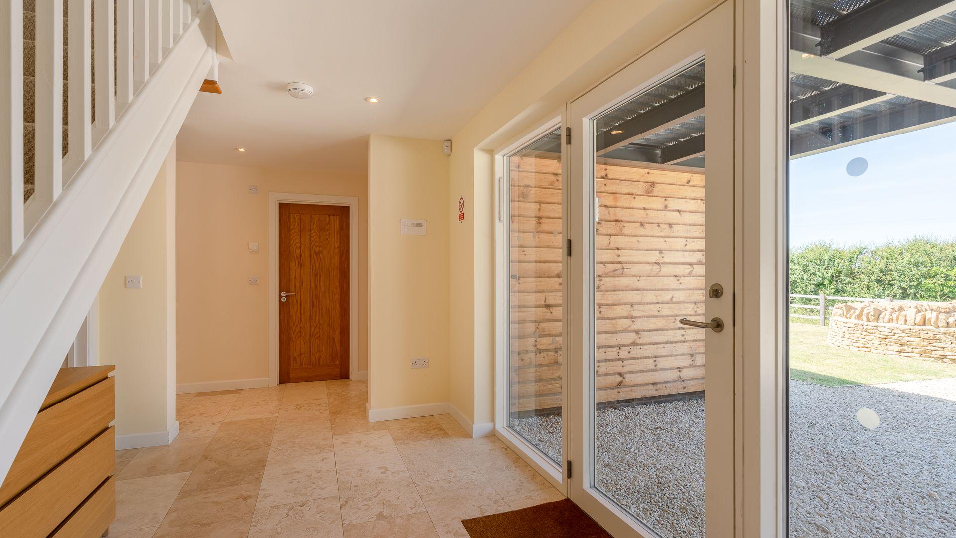 Hallway, Hill View Rise, Bolthole Retreats
