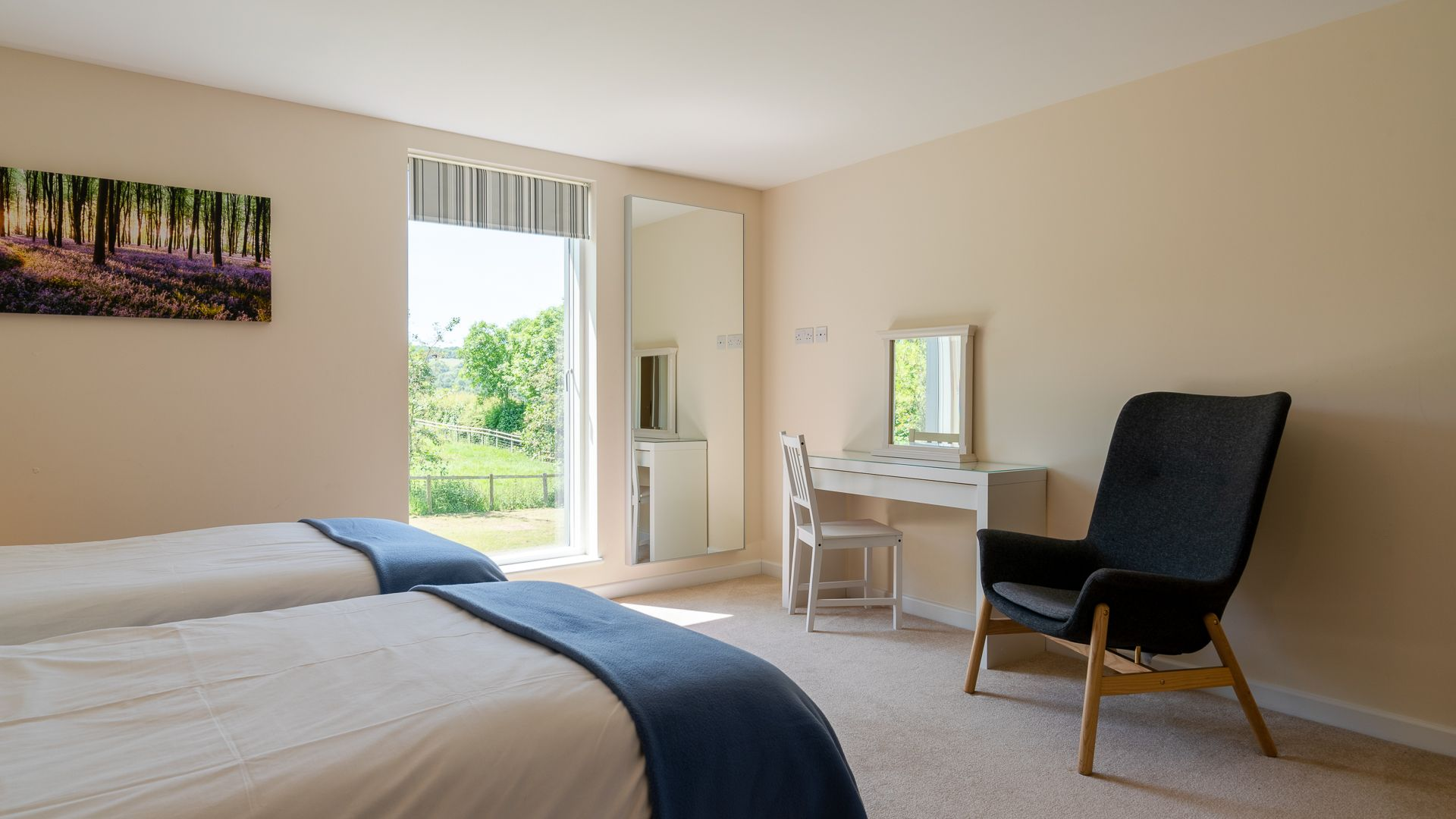 Bedroom Four, Hill View Rise, Bolthole Retreats