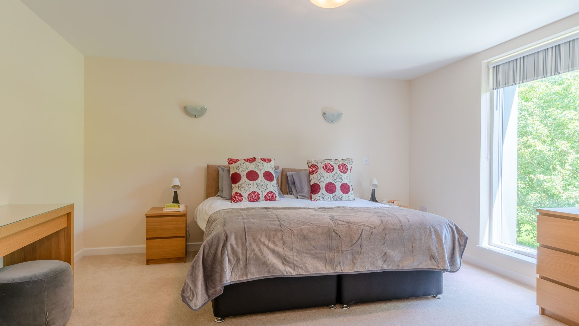 Bedroom Three, Hill View Rise, Bolthole Retreats