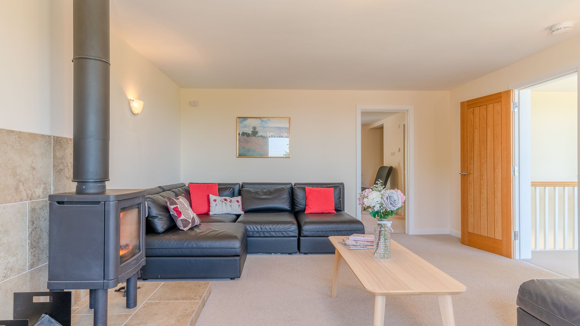 Living Room, Hill View Rise, Bolthole Retreats