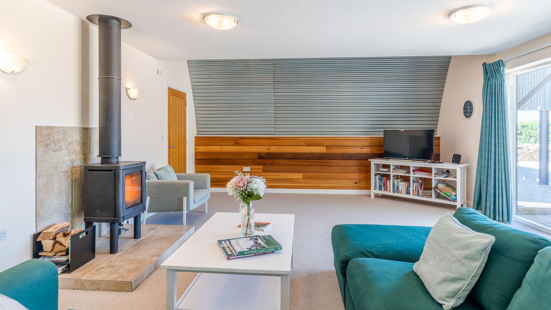 Living Area, Ledge View, Bolthole Retreats