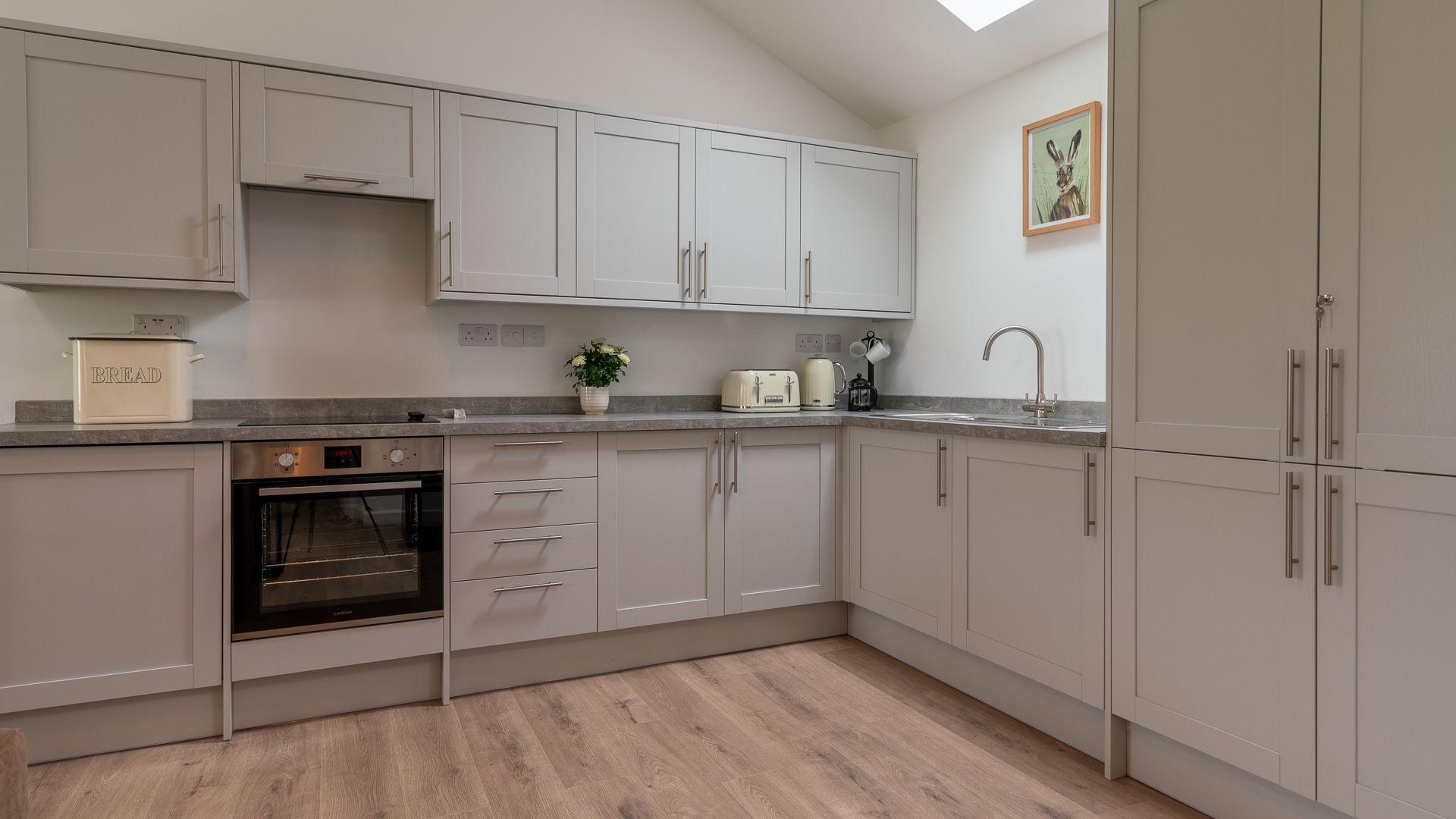 Kitchen Area, Lily Barn at Laburnum Farm Estate, Bolthole Retreats