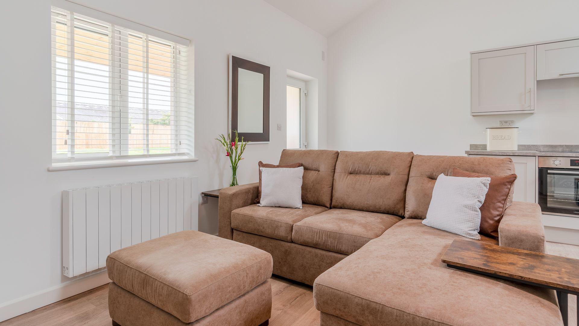 Living Area, Lily Barn at Laburnum Farm Estate, Bolthole Retreats