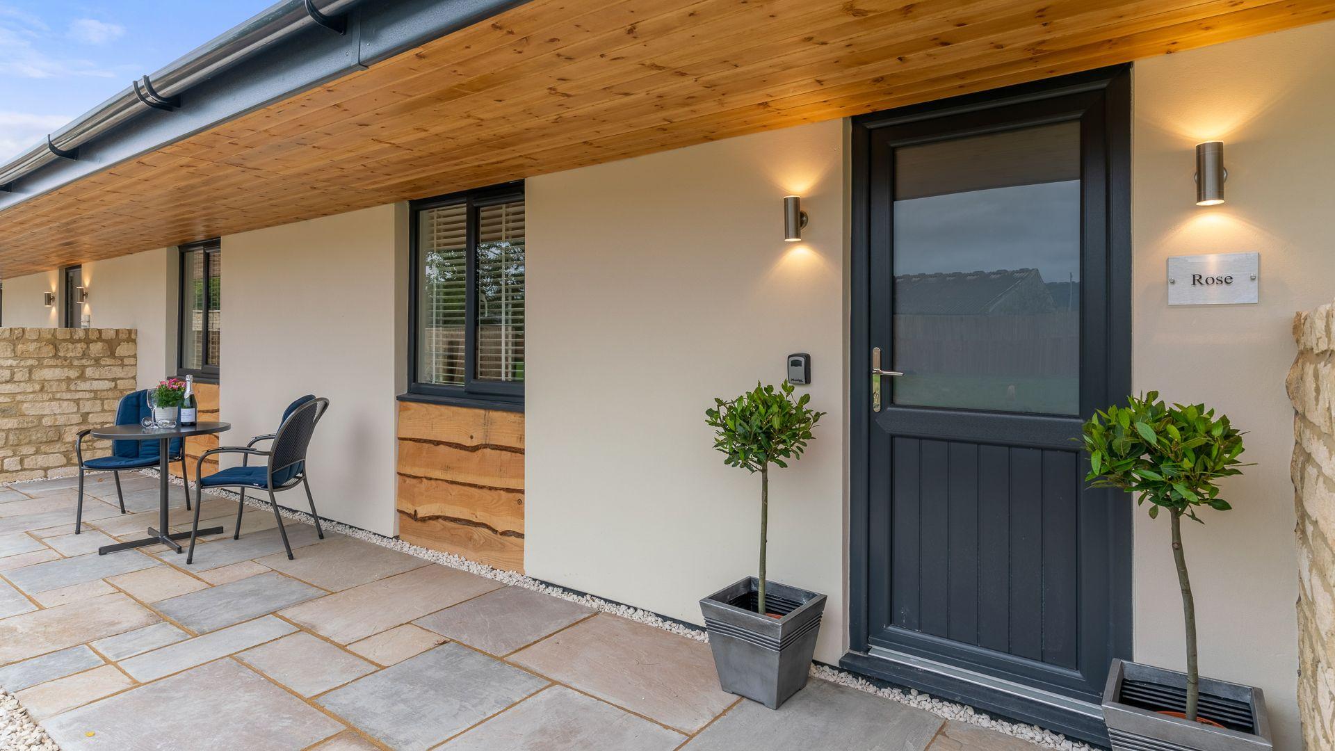 Entrance, Rose Barn, Laburnum Farm Estate, Bolthole Retreats